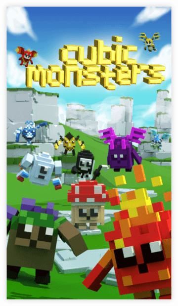 Cubic Monsters by NSTBG